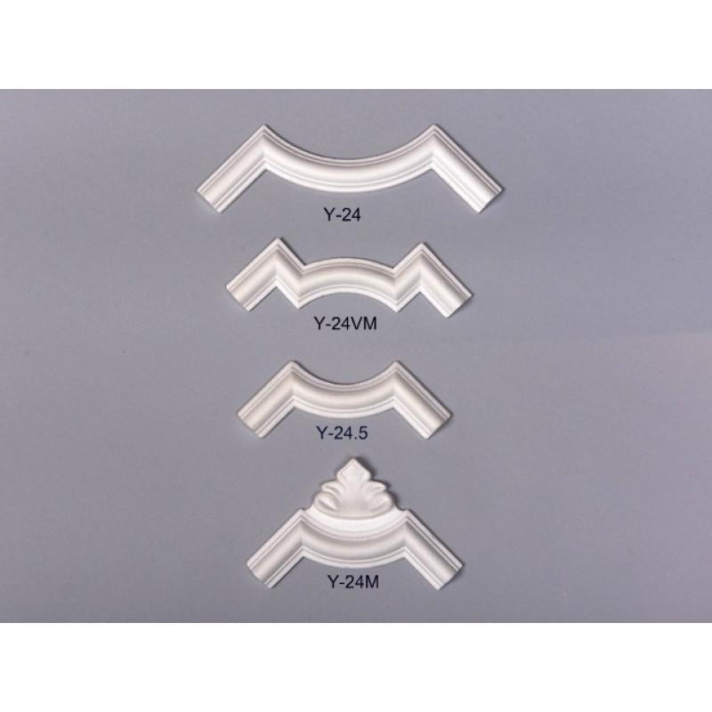 Фото 1 - Пристеновые углы и вставки из пенопласта Y-24