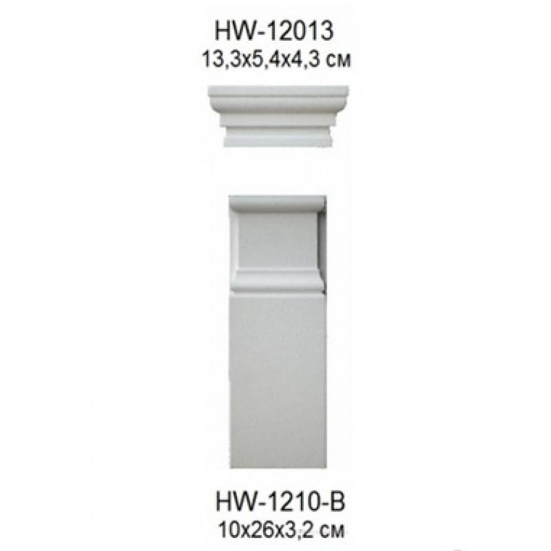 Фото 1 -  Обрамление, для стен Classic home HW-1210-B