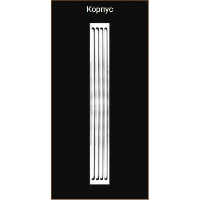 Фото 1 - Декоративная пилястра из пенопласта Glanzepol Корпус 1(2)