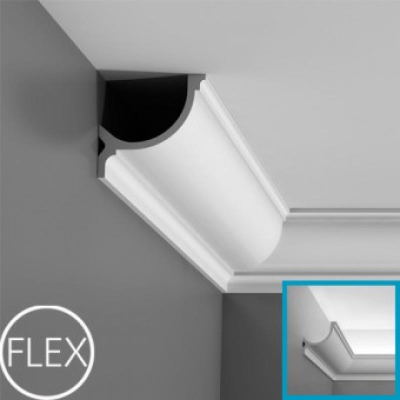 Фото 1 - Карниз скрытого освещения Orac decor Luxxus C902
