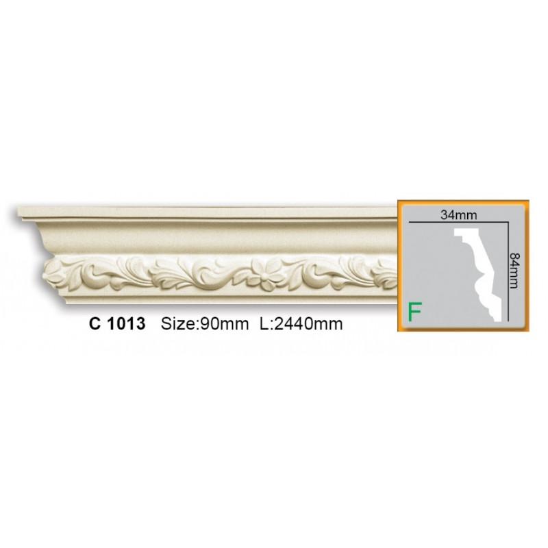 Фото 1 - Карниз гибкий Gaudi decor C 1013 (2,44м) Flexi