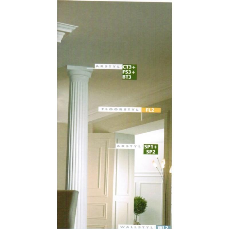 Фото 2 - Молдинг для стен гладкий NMC Arstyl SP1