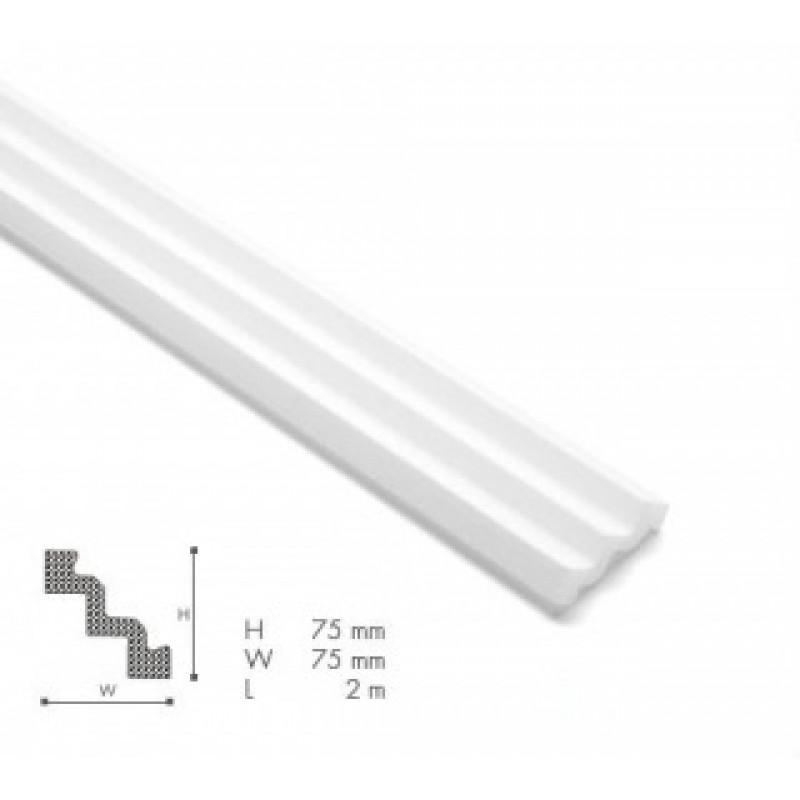 Фото 1 - Потолочный плинтус гладкий NMC Nomastyl ST3