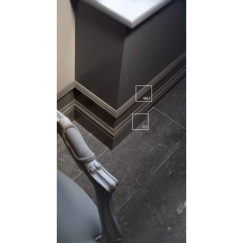 Фото 5 - Молдинг для стен гладкий NMC Wallstyl WL1 (2,0)