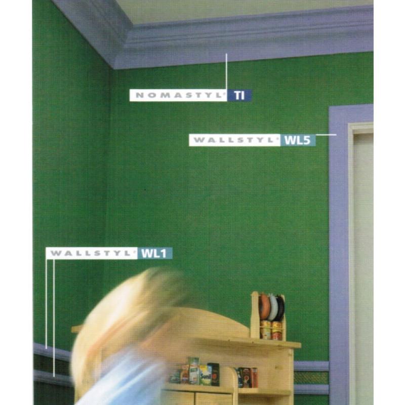 Фото 3 - Молдинг для стен гладкий NMC Wallstyl WL5 (2,0)
