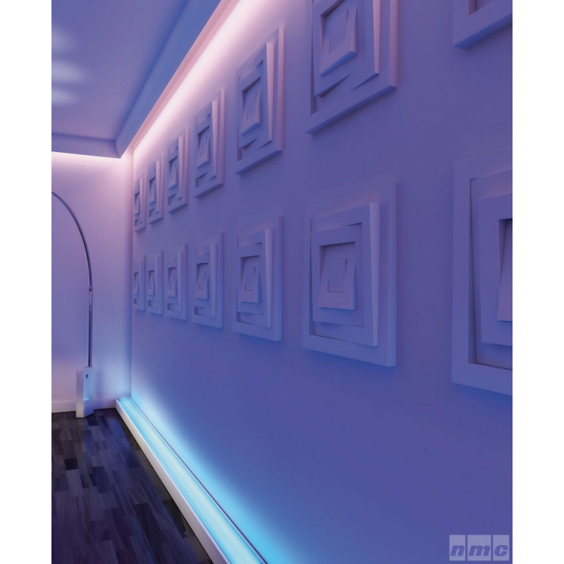 Фото 2 - Карниз скрытого освещения NMC Wallstyl WT3